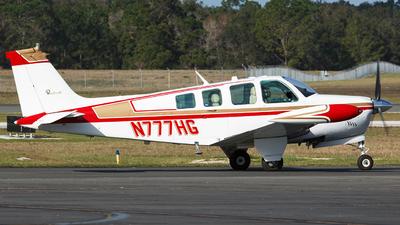 N777HG - Beechcraft A36 Bonanza - Private