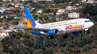 A picture of GDRTL - Boeing 7378AL - Jet2 - © Nelson Sousa