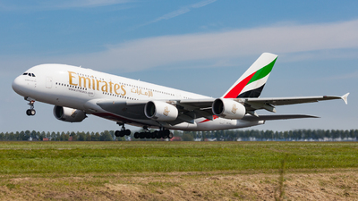 A6-EEE - Airbus A380-861 - Emirates