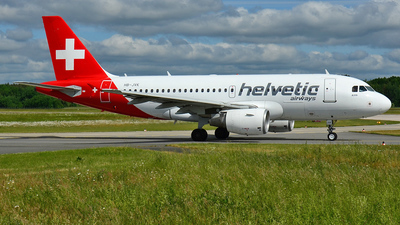 HB-JVK - Airbus A319-112 - Helvetic Airways
