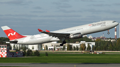 A picture of VPBUP - Airbus A330302 - Nordwind Airlines - © Luba Ostrovskaya