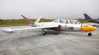 F-AZXV - Fouga CM-170 Magister - Private