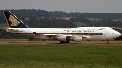 9V-SPB - Boeing 747-412 - Singapore Airlines