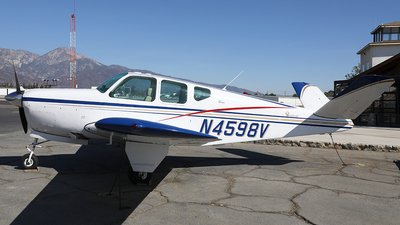 N4598V - Beechcraft 35 Bonanza - Private
