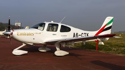A6-CTK - Cirrus SR22-G6 - Emirates Flight Training Academy