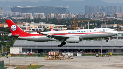 A picture of B8589 - Airbus A330343 - Sichuan Airlines - © TPS00