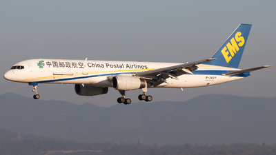 A picture of B2827 - Boeing 7572Y0(PCF) - China Postal Airlines - © LingFeng