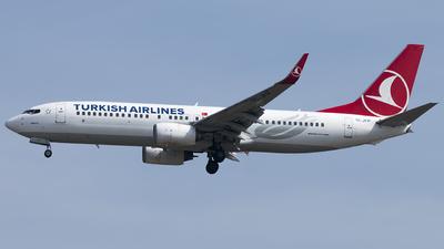 TC-JFP - Boeing 737-8F2 - Turkish Airlines