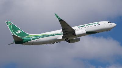 YI-ASF - Boeing 737-81Z - Iraqi Airways