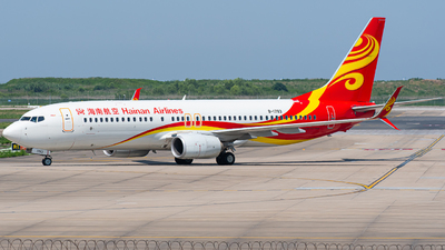 A picture of B1783 - Boeing 73784P - Hainan Airlines - © Janson Button
