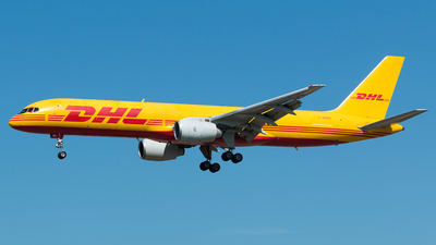 A picture of GBMRE - Boeing 757236(SF) - DHL - © Bárbara Costa