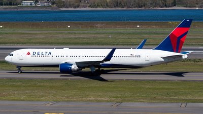 A picture of N1200K - Boeing 767332(ER) - Delta Air Lines - © Nick Sheeder