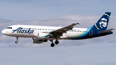 N638VA - Airbus A320-214 - Alaska Airlines