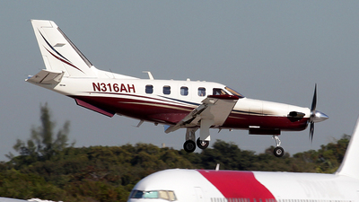 N316AH - Socata TBM-700 - Private