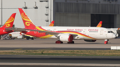A picture of B2722 - Boeing 7878 Dreamliner - Hainan Airlines - © zifei