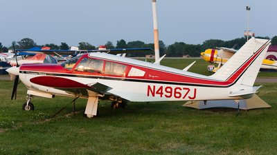 N4967J - Piper PA-28R-180 Cherokee Arrow - Private
