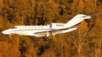 A picture of N996QS - Cessna 750 Citation X - NetJets - © SpotterPowwwiii