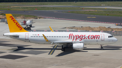 TC-DCL - Airbus A320-214 - Pegasus Airlines