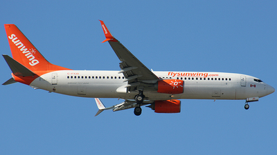 C-FYJD - Boeing 737-8Q8 - Sunwing Airlines