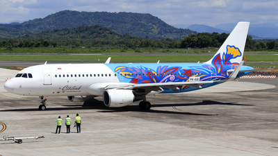 PK-GQI - Airbus A320-214 - Citilink