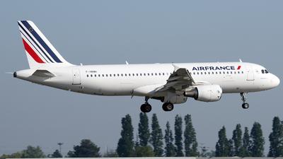 F-HBNH - Airbus A320-214 - Air France