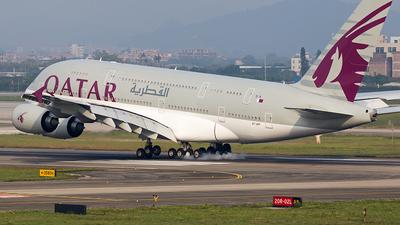 A7-APF - Airbus A380-861 - Qatar Airways