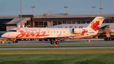 C-GKFR - Bombardier CRJ-200LR - Air Canada Jazz