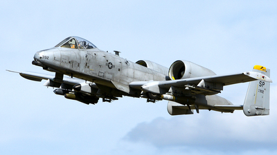 81-0992 - Fairchild A-10C Thunderbolt II - United States - US Air Force (USAF)