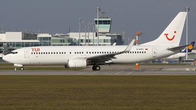 D-AHFV - Boeing 737-8K5 - TUI