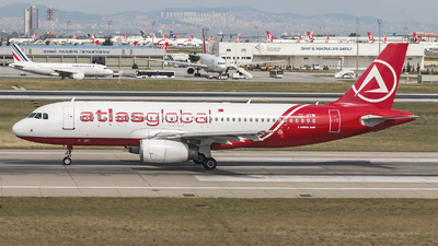 TC-ATM - Airbus A320-232 - AtlasGlobal