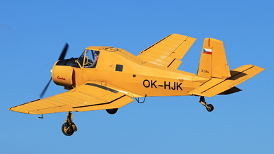 OK-HJK - Let Z-37 Cmelák - Private