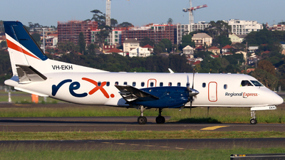 VH-EKH - Saab 340B - Regional Express (REX)