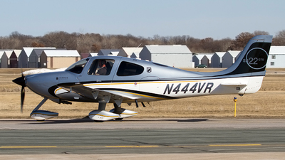 N444VR - Cirrus SR22-GTS - Private