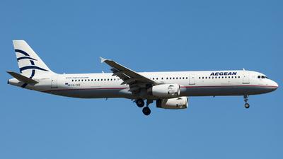 A picture of SXDVO - Airbus A321231 - Aegean Airlines - © Alexander Schürmann
