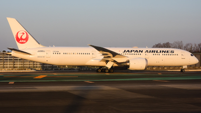JA866J - Boeing 787-9 Dreamliner - Japan Airlines (JAL)