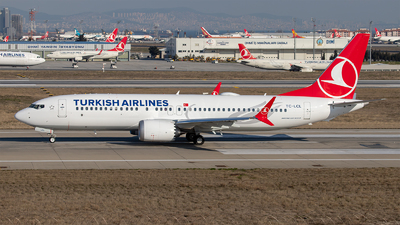 TC-LCL - Boeing 737-8 MAX - Turkish Airlines