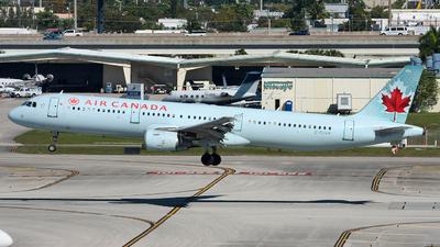 C-GJVX - Airbus A321-211 - Air Canada