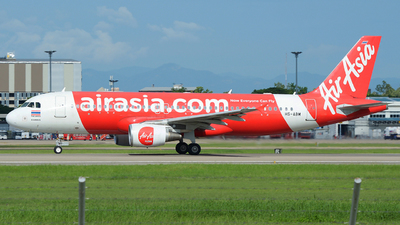 A picture of HSABM - Airbus A320216 - AirAsia - © SOMPOL JUNLAMART