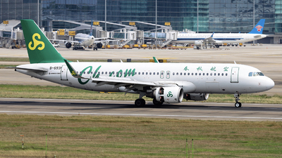 A picture of B6931 - Airbus A320214 - Spring Airlines - © nibrage