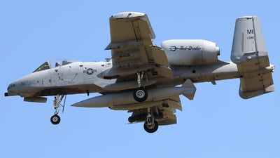 78-0641 - Fairchild A-10C Thunderbolt II - United States - US Air Force (USAF)