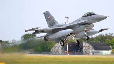 4063 - Lockheed Martin F-16C Fighting Falcon - Poland - Air Force