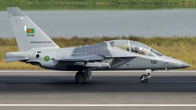 15103 - Yakovlev Yak-130 - Bangladesh - Air Force