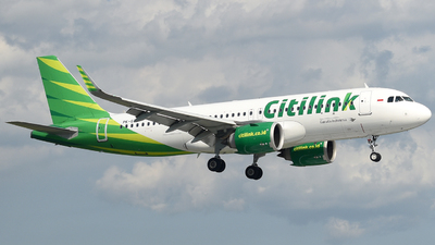 A picture of PKGTJ - Airbus A320251N - Citilink - © Cahyadi H Prabowo