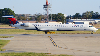 A picture of N297PQ - Mitsubishi CRJ900LR - Delta Air Lines - © Jake Sevigny - kmht.jake
