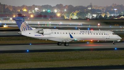 A picture of N503MJ - Mitsubishi CRJ701ER - United Airlines - © Lima Delta Sierra