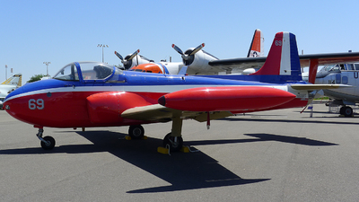 N69RT - Hunting Percival Jet Provost T.3A - Private