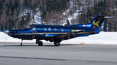 A picture of HBFVD - Pilatus PC12/47E - [1072] - © Varani Ennio