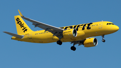 A picture of N921NK - Airbus A320271N - Spirit Airlines - © William Suárez Carrasquillo