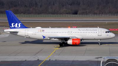 A picture of OYKAW - Airbus A320232 - SAS - © Paul Denton