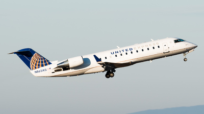 N862AS - Bombardier CRJ-200ER - United Express (ExpressJet Airlines)